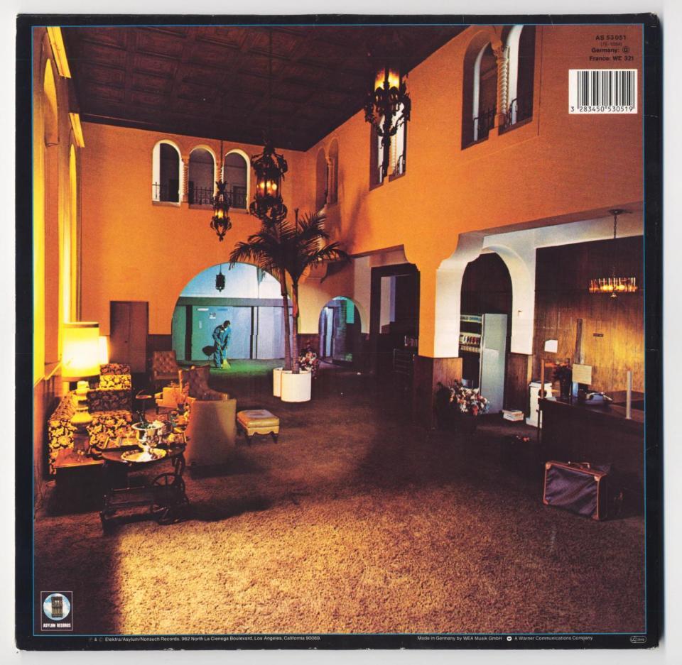 Albumhoes Hotel California