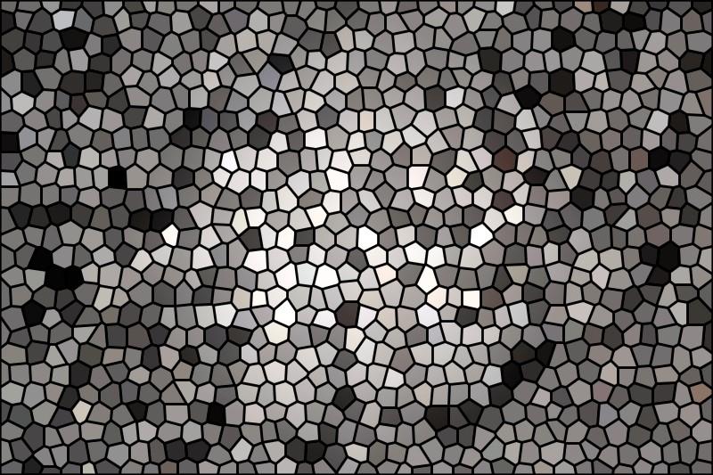 Aarde mozaiek