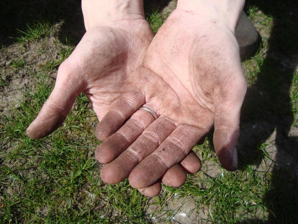 Handen groot