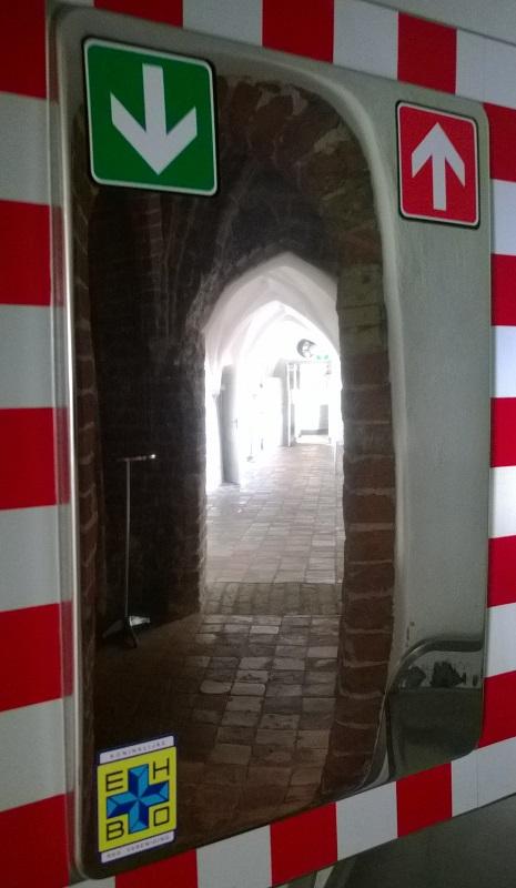 Eenrichting Looproute Kloosterwandelgang - Leeuwarden