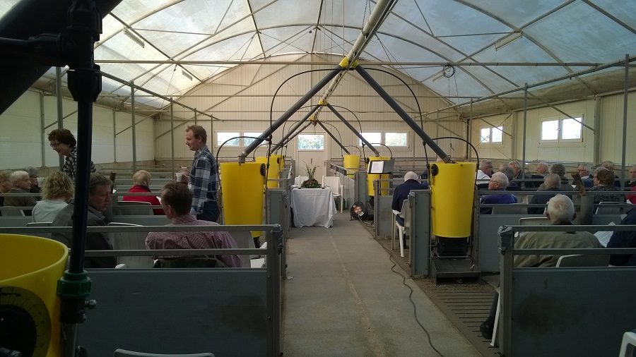 2015 Boerderijviering in varkensstal2, Lemelerveld 25 oktober