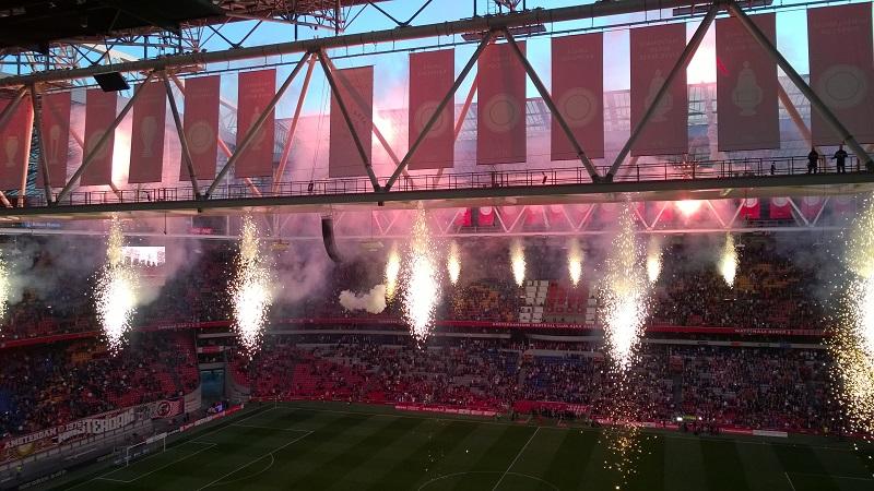 Amsterdam Arena Vuurwerk