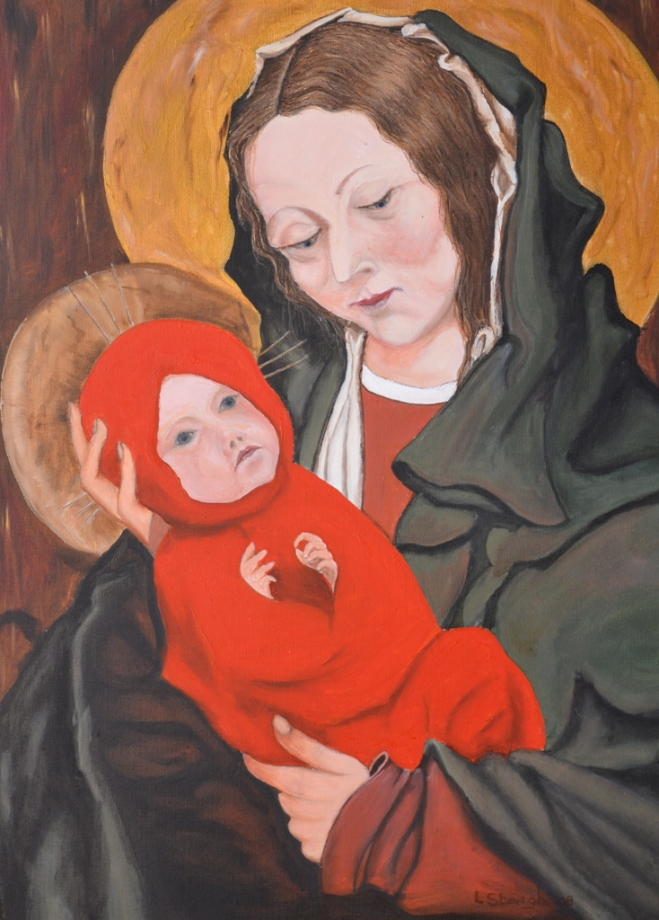 maria-en-jezus-schilderij-louis-steeghs-2008